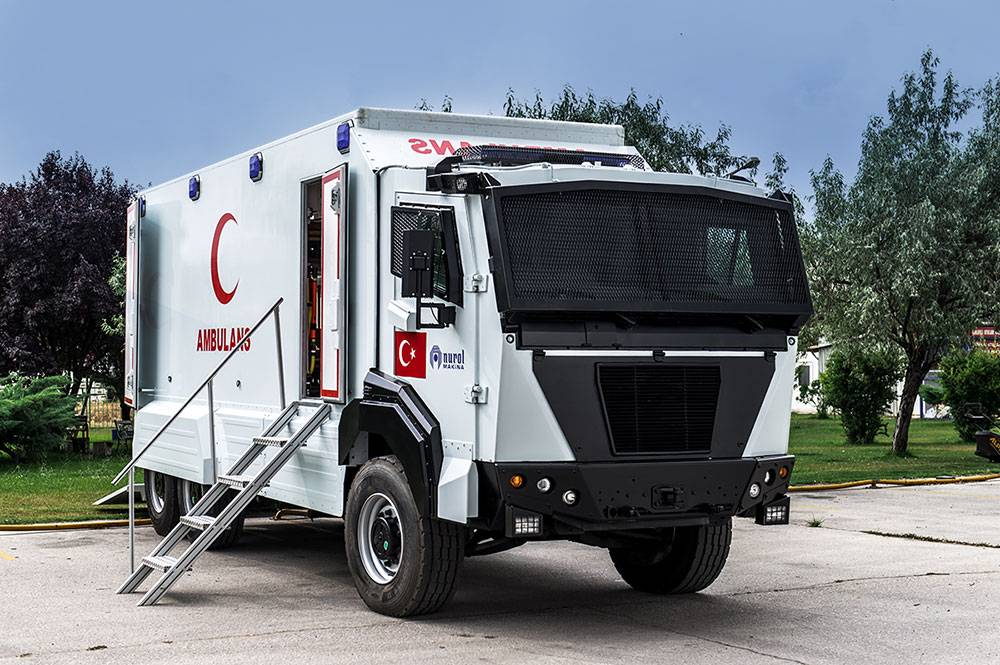 Nurol Makina Kunter Ambulans