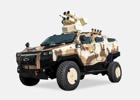 Nurol Makina NMS 4x4 Air Defence